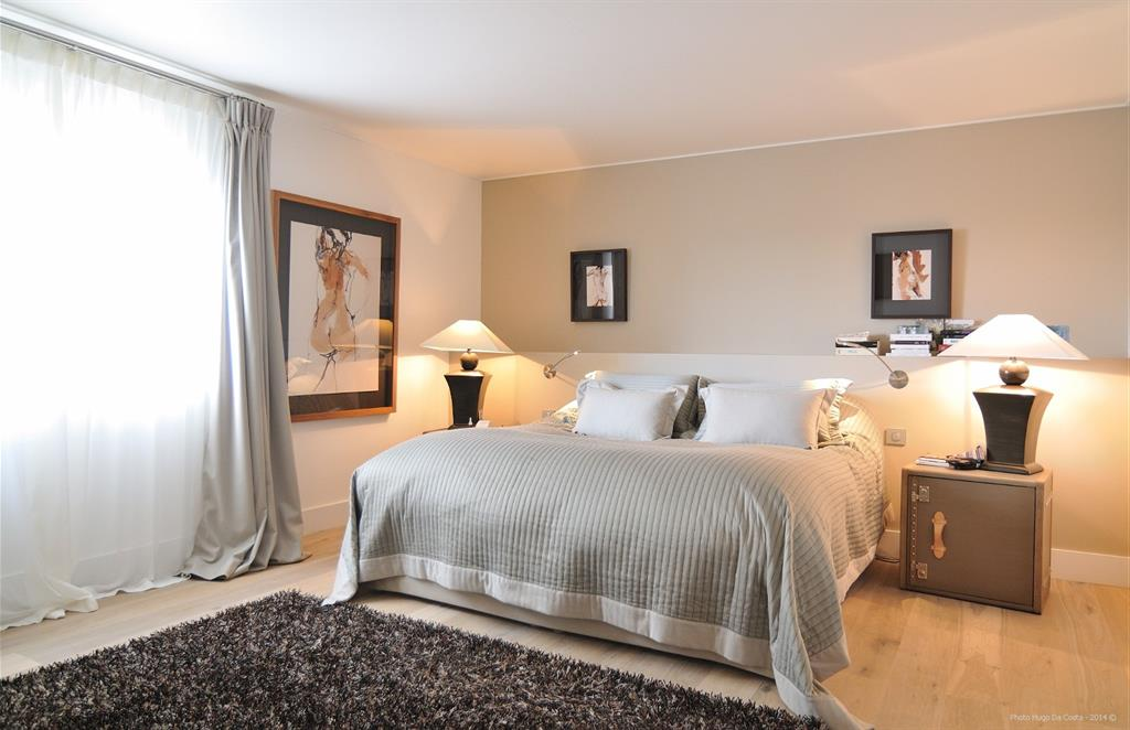 Une chambre feng shui pour mieux dormir meilleur quotidien - Chambre style anglais moderne ...