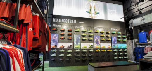 La boutique So Foot de Lyon : vue intérieure