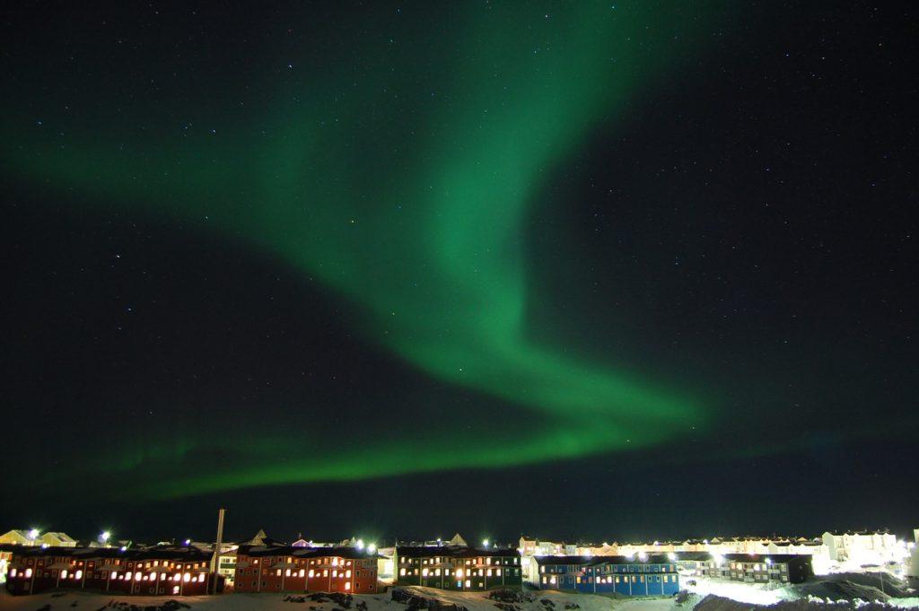 aurores boreales groenland